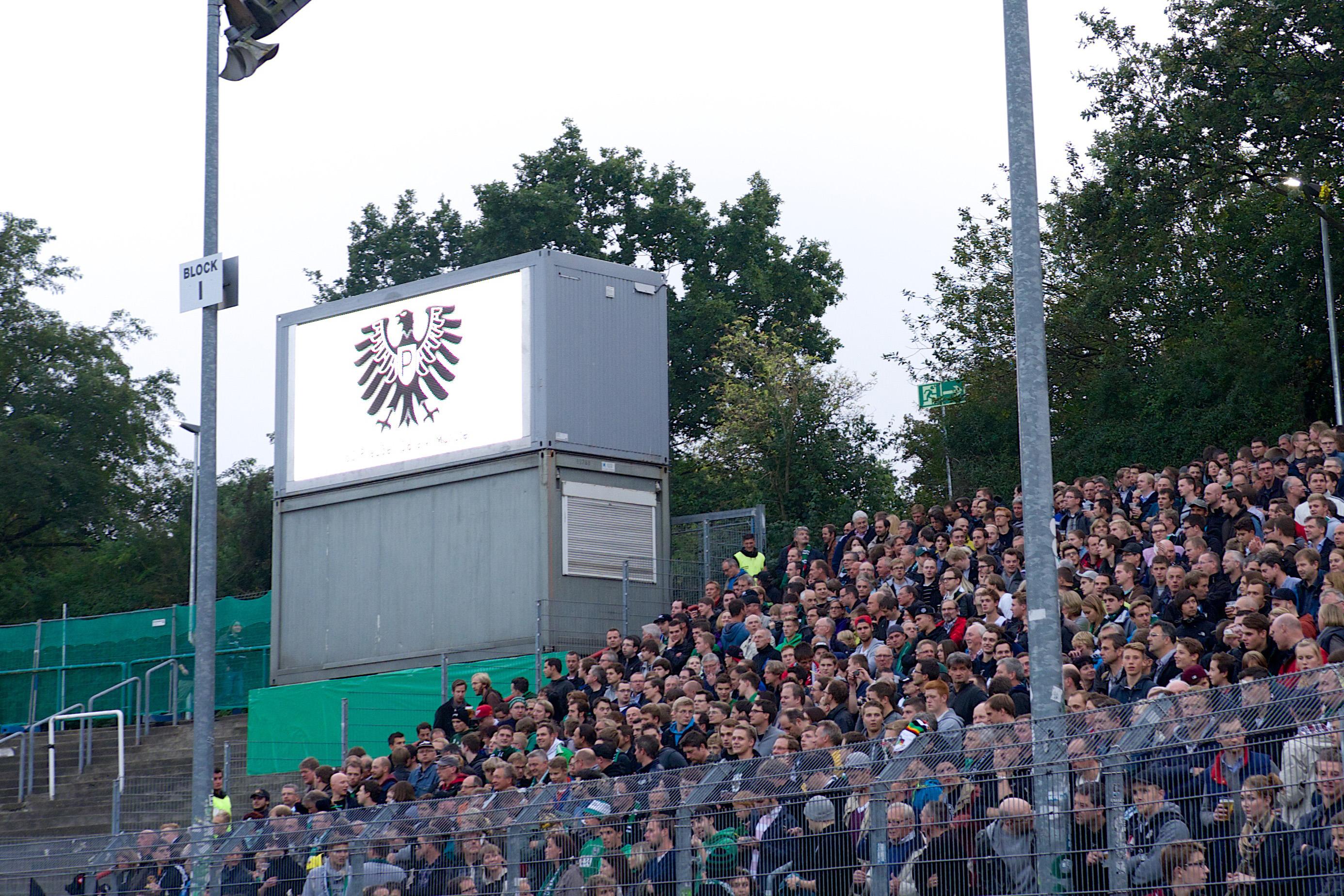 LED Videowand SC Preußen Münster